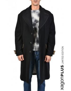 X+ COAT MEB01 Black