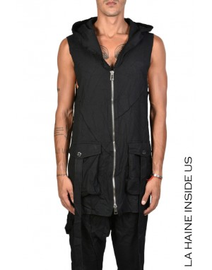 3J HOLOGRAM SLEEVELESS Black