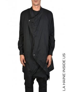 3B KAMACHI SHIRT CARDIGAN Black