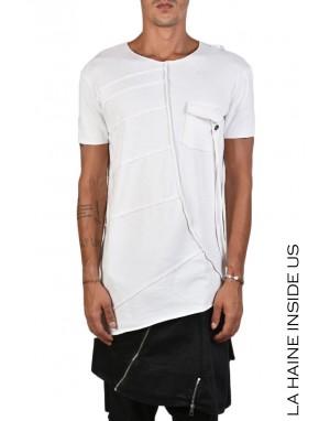 3J KASS T-SHIRT Bianco