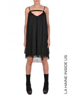 4R DAMITA DRESS Black
