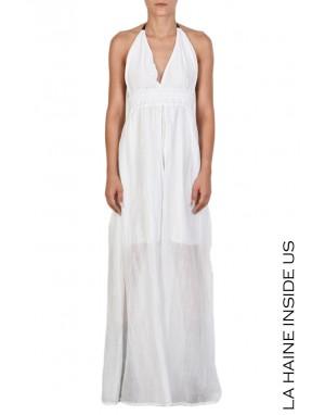 4B SYLIS DRESS White