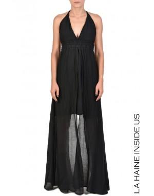 4B SYLIS DRESS Black