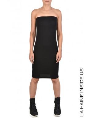 4J VANILA DRESS Black