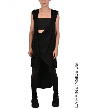 4M NAUDA DRESS/CARDIGAN Black