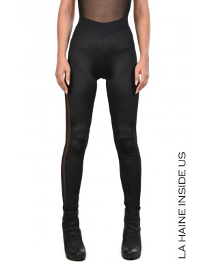 4B CYRY LEGGINGS Nero