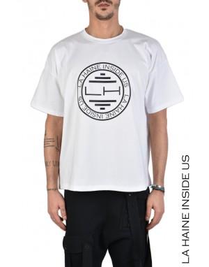 3M OCCHI T-SHIRT OVERSIZE Bianco