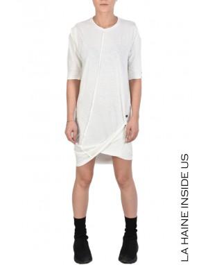 3J CELPH T-SHIRT/DRESS White