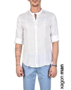 SHIRT A00011 Linen White