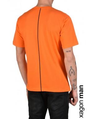T-SHIRT STAMPA FS101 Arancio