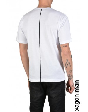 T-SHIRT STAMPA FS101 Bianco