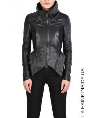 4B STINA JACKET Leather Black