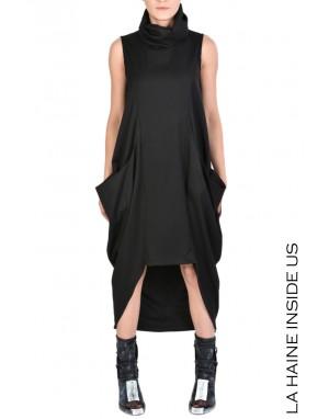 4B INOYA DRESS Black