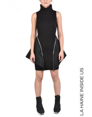 4M SHIA DRESS Black