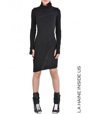 4J SALBAG DRESS Black
