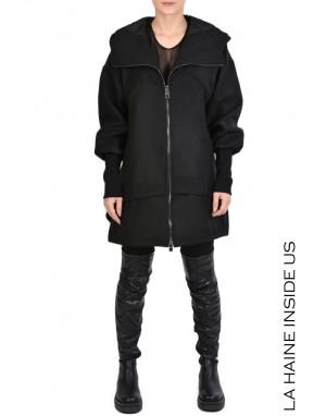 4B SAFAY COAT Black