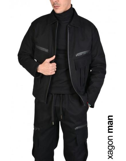 SPORT JACKET ZXAG33 Black