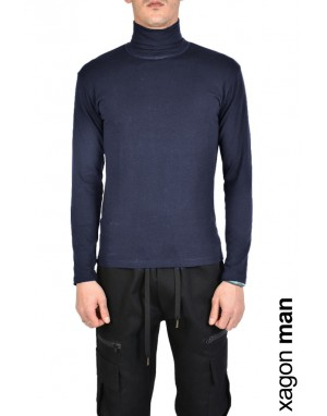 T-SHIRT Long Sleeves SPIN1 Blue