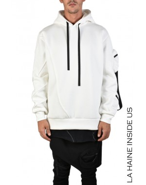 3M LINK SWEATER White