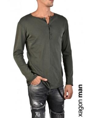 T-SHIRT Long Sleeves JX2102 Green
