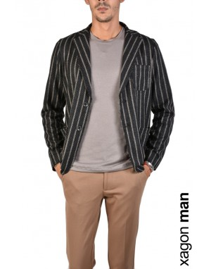 GIACCA CASUAL JX2211 Nero