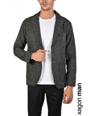 GIACCA CASUAL JX2212 Nero